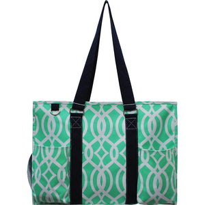 "NGIL All Purpose Organizer 18"" Large Utility Tote Bag Vine"
