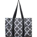 "NGIL All Purpose Organizer 18"" Large Utility Tote Bag Geo"