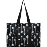 "NGIL All Purpose Organizer 18"" Large Utility Tote Bag Arrow"