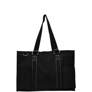 NGIL All Purpose Organizer Medium Utility Tote Bag Solid