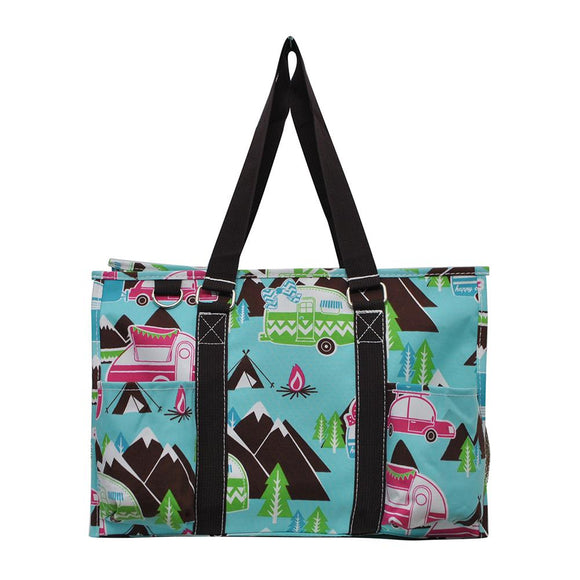 NGIL All Purpose Organizer Medium Utility Tote Bag Camper