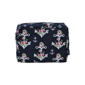 c8c92543705d NGIL Large Travel Cosmetic Pouch Bag Rose Anchor Navy – Sha La La ...