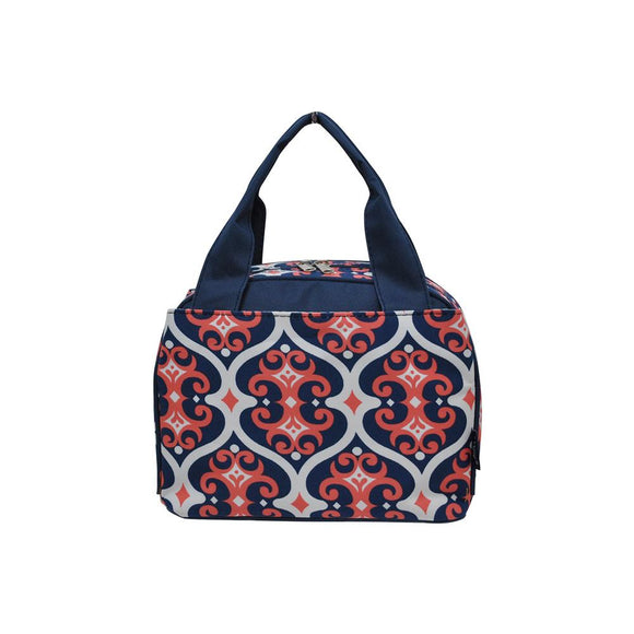 NGIL Insulated Lunch Bag Classy Vine Navy