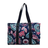 NGIL All Purpose Organizer Medium Utility Tote Bag Medievil Bloom