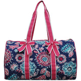 NGIL Quilted Cotton Large Duffle Bag Medievil Blossom