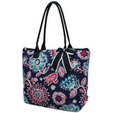 NGIL Quilted Medium Tote Bag Medievil Blossom