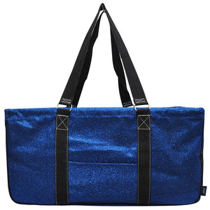 "NGIL All Purpose Open Top 23"" Classic Extra Large Utility Tote Bag Glitter"