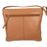Pielino Genuine Leather RFID Travel Crossbody Handbag