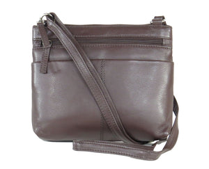 Pielino Genuine Leather Small Travel Crossbody Handbag 40162
