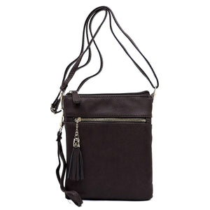 EGFAS Women's Functional Multi Compartment Crossbody Bag