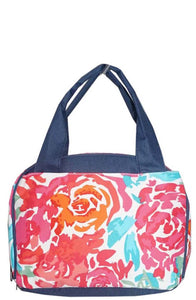 NGIL Insulated Lunch Bag All Flower Navy
