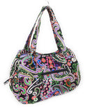 EGFAS Quilted Cotton Shoulder Hobo Handbag