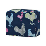 NGIL Large Travel Cosmetic Pouch Bag Rooster Navy