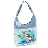 Guy Harvey Live Blue Medium Scoop Hobo Bag 4502