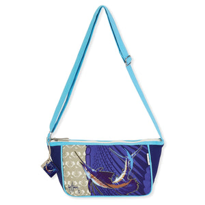 Guy Harvey Leaping Sailfish Crossbody Bag 4583