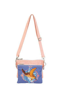 Guy Harvey Ocean Friends 2-Piece Crossbody Bag