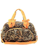 NGIL Quilted Large Weekender Duffel Bag (Camo)