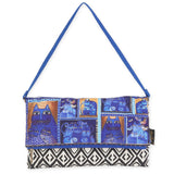 Laurel Burch Flap Clutch Handbag 5750