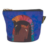 Laurel Burch Mythical Horses Cosmetic Clutch Pouch