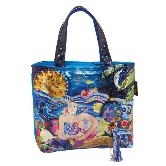 Laurel Burch Ocean Song Small Tote 6432