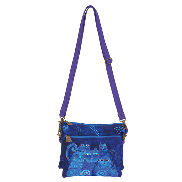 Laurel Burch 2 pc Crossbody Bag 6551