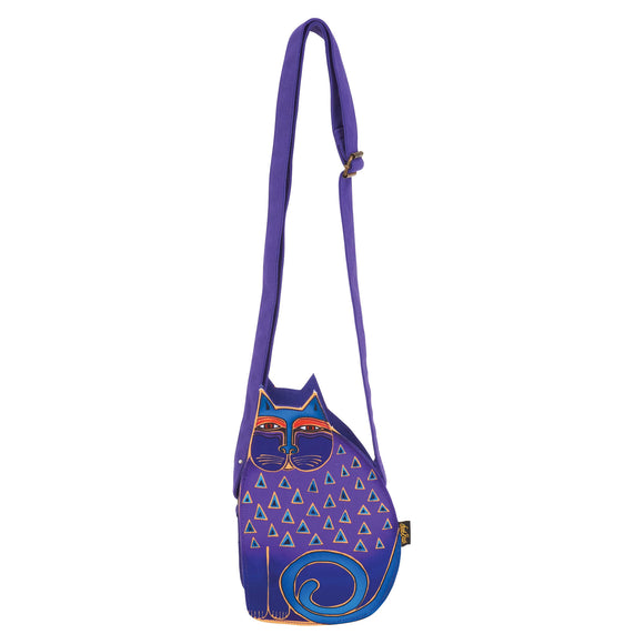 Laurel Burch Feline Family Cut Out Crossbody 6554