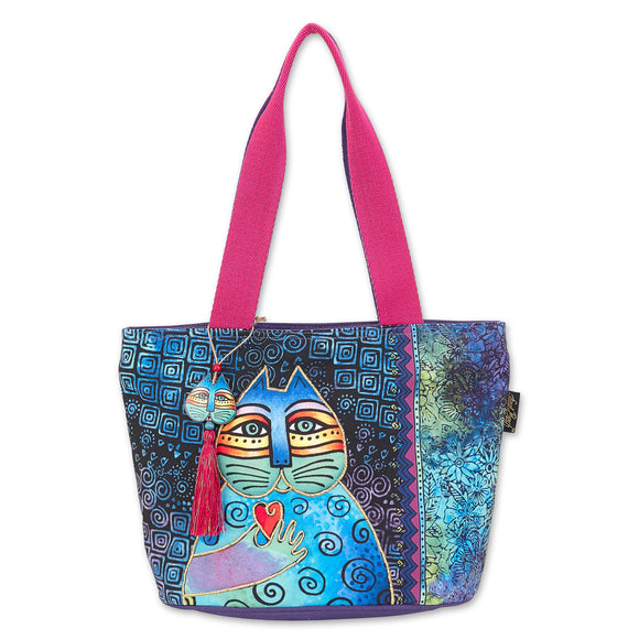 Laurel Burch Wishing Love Medium Shoulder Bag Tote Style Handbag Purse