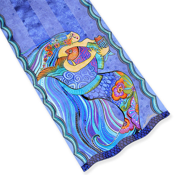 Laurel Burch Silk Scarf Sea Dream