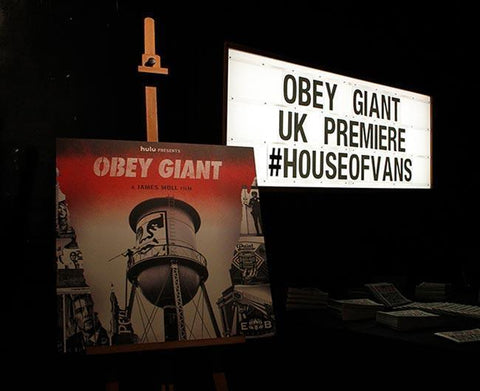 OBEY Giant UK Premiere at House of Vans