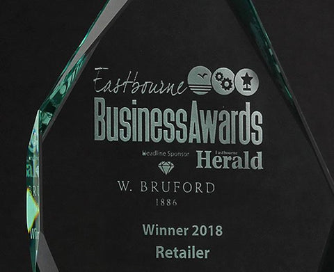 Urban Industry wins Retailer of the Year 2018 at the Eastbourne business awards