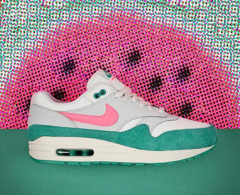 Nike Air Max 1 Shoes | 'Watermelon / South Beach' Colourway