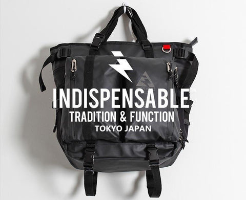 Introducing Indispensible Bags & Backpacks