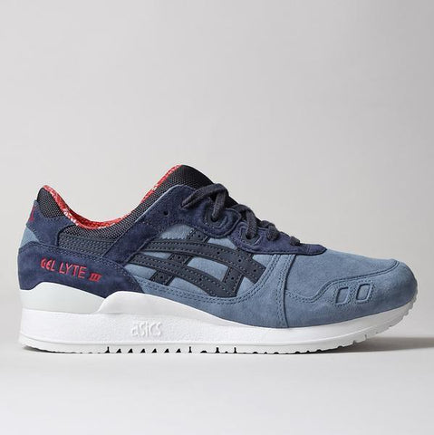 "Asics Gel Lyte III Shoes - Blue Mirage/India Ink ""Christmas Jumper"" Pack - LAUNCHED FRIDAY 25TH NOVEMBER 2016 00:01 AM GMT"