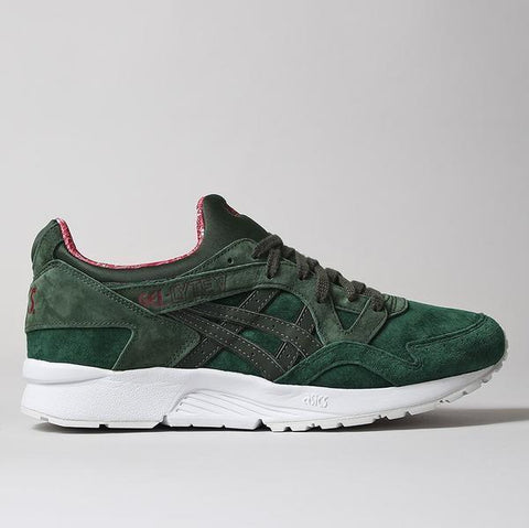 "Asics Gel Lyte V Shoes - Dark Green/Duffle Bag - ""Christmas Jumper"" Pack - LAUNCHED FRIDAY 25TH NOVEMBER 2016 00:01 AM GMT"