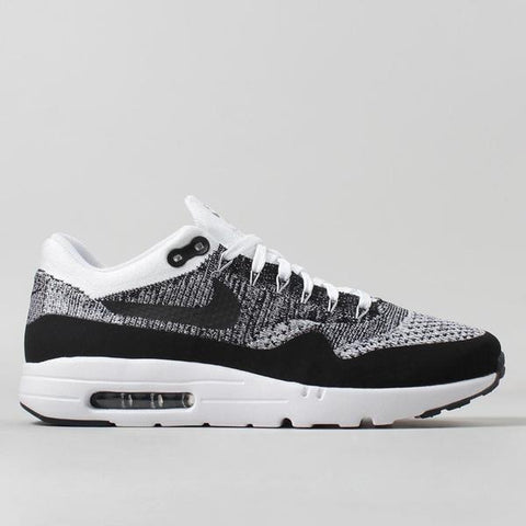 Nike Air Max 1 Ultra Flyknit - White/Black - LAUNCHED Thursday 28th July 2016 09:00am BST