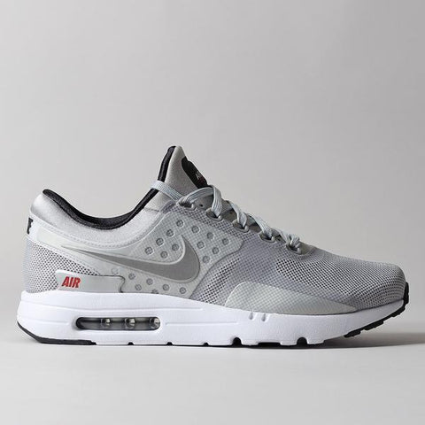 "Nike Air Max Zero QS Shoes - ""Metallic Silver"" - LAUNCHED FRIDAY 25TH NOVEMBER 2016 08:00 AM GMT"