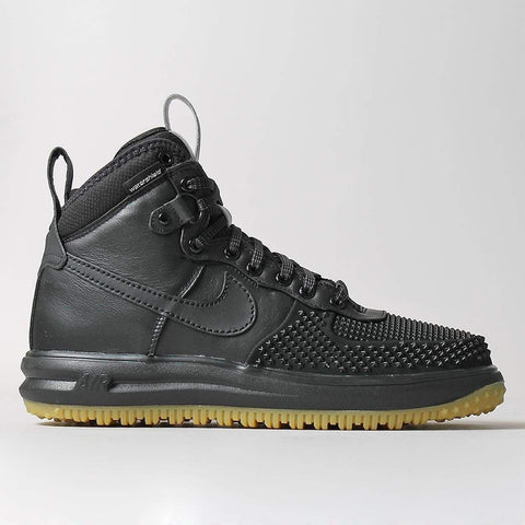 Nike Lunar Force 1 Duckboot - Black/Metallic Silver - LAUNCHED Saturday 01st October 08:00am BST