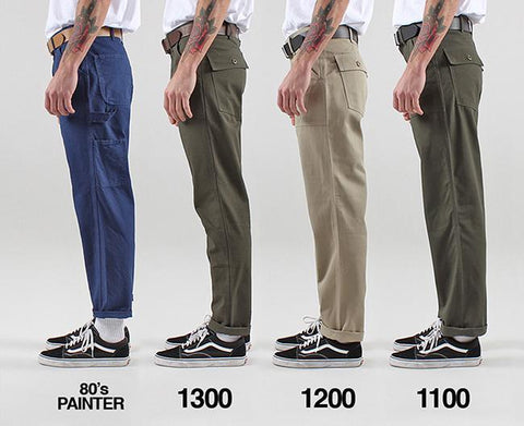Stan Ray Fit Guide | How do Stan Ray Fatigue Pants Fit ?