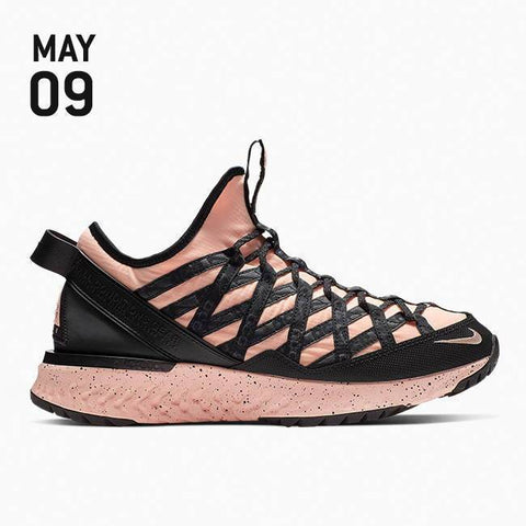 Nike ACG React Terra Gobe Shoes - Melon Tint/Melon Tint/Sunset Tint - BV6344-800
