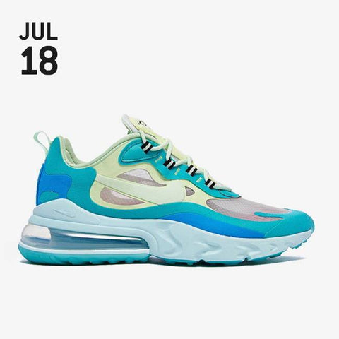 Nike Air Max 270 React Shoes - Hyper Jade/Frosted Spruce/Barely Volt - AO4971-301