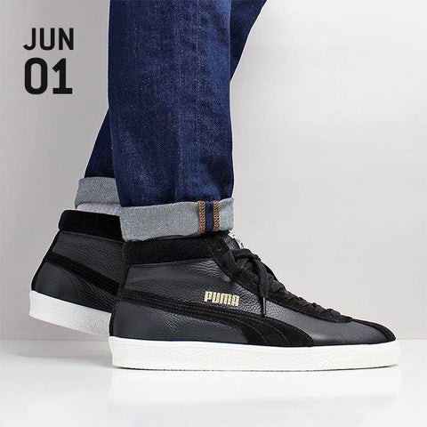 Puma Basket '68 Mid Shoes - Puma Black