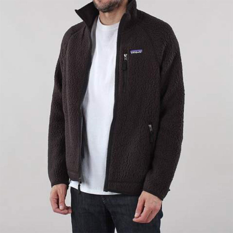 Patagonia Retro Pile Jacket- Black, available in store and online