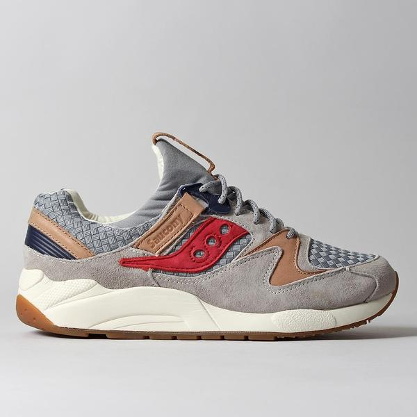Saucony Grid 9000 Shoes - Grey - Liberty Pack at Urban Industry