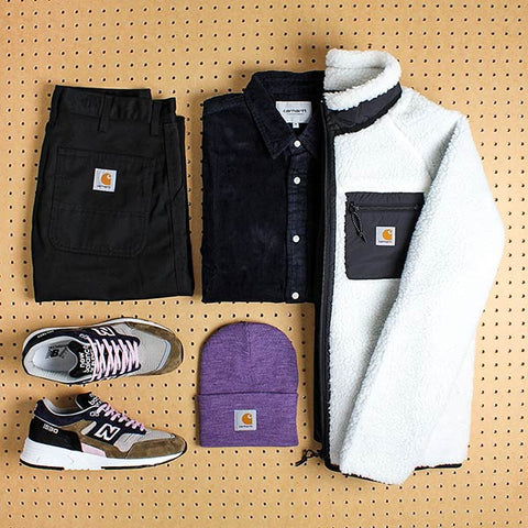 Carhartt WIP Grid Outfit at Urban Industry Eastbourne