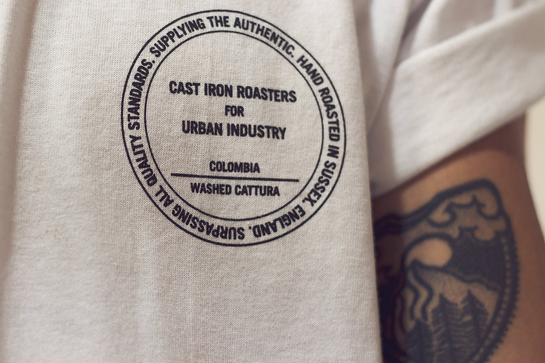 Urban Industry X Cast Iron Coffee Roasters - 2nd Roast Season - Catalina Beans, Eastbourne, East Sussex.