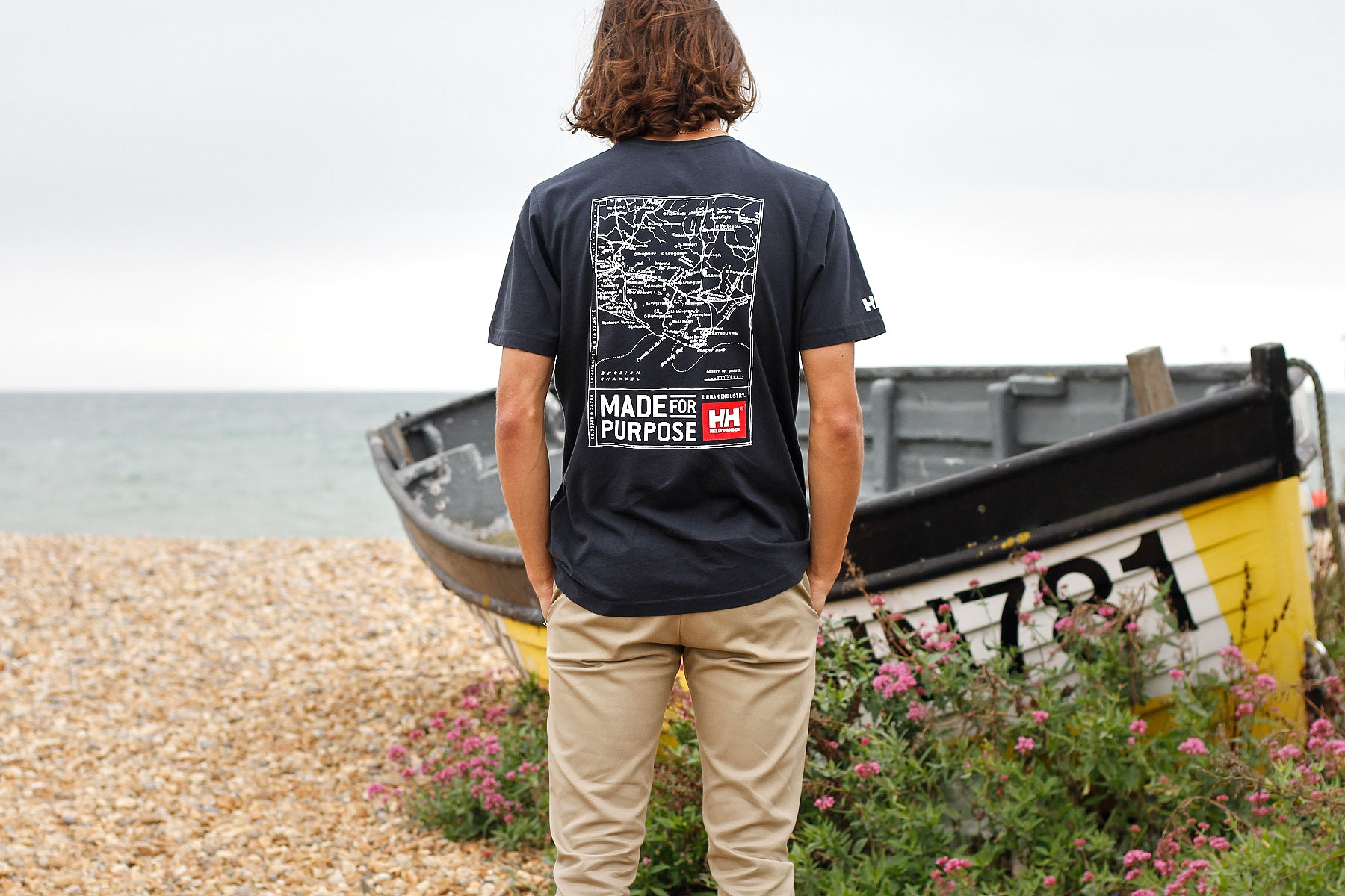 Helly Hansen x Urban Industry T-shirts for the RNLI, Eastbourne, East Sussex