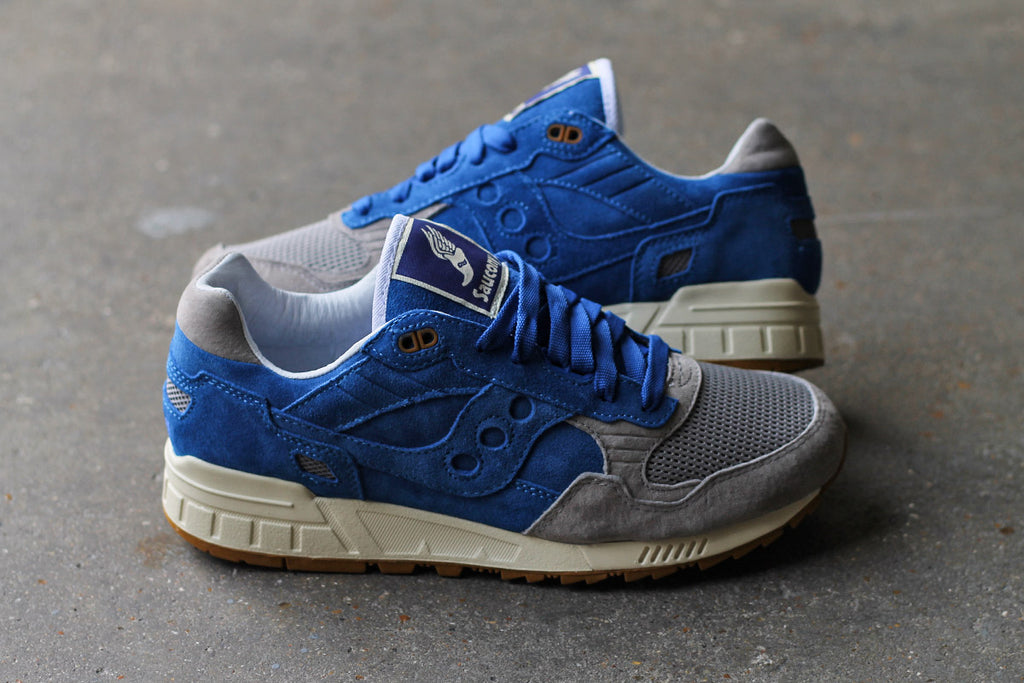 Saucony X Bodega Elite Shadow 5000 Shoes - Blue/Grey at Urban Industry