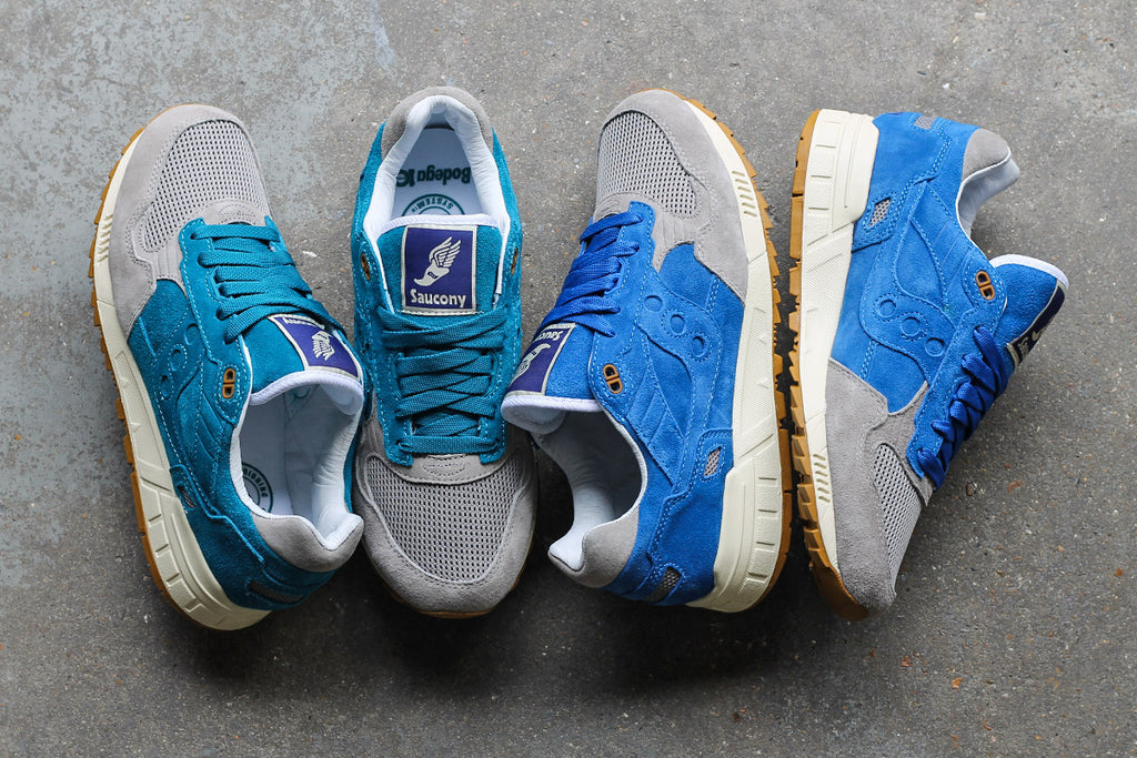 Saucony X Bodega Elite Shadow 5000 Shoes - Teal/Grey at Urban Industry