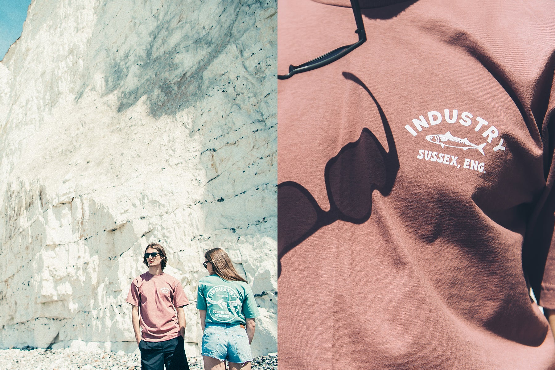 Urban Industry Summer 18 Capsule, Fish Industry T-shirt in Eastbourne