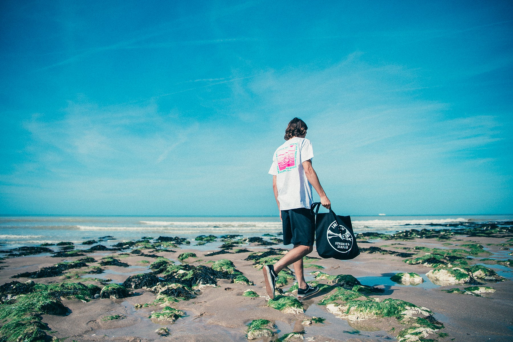Urban Industry Summer 18 Capsule, Never Tread Water T-shirt in Eastbourne